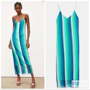 NWT • Zara • Sequin Dress